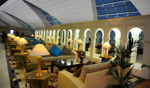 Emirates Lounge Dubai for Business class Flights to Mauritius