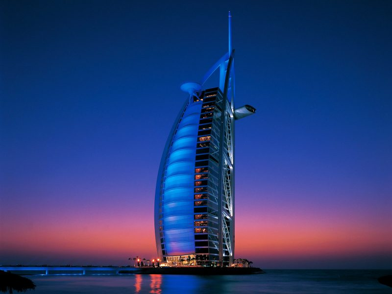 Burj Al Arab - Most expensive hotels in Dubai
