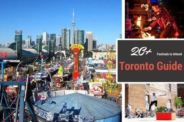 Festivals & Events in Toronto for 2018