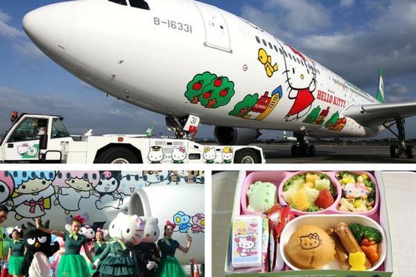 Unusual & Weirdest Airlines Eva Air – The Hello Kitty Jet
