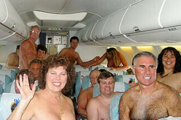 Unusual & Weirdest Airlines German Nude Airlines