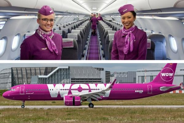 Unusual & Weirdest Airlines WOW Air – Gay Fleet