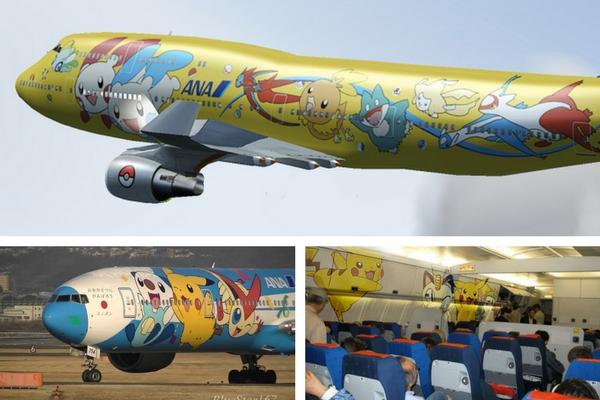 Unusual & Weirdest Airlines ANA – Pokemon Lovers Unlimited