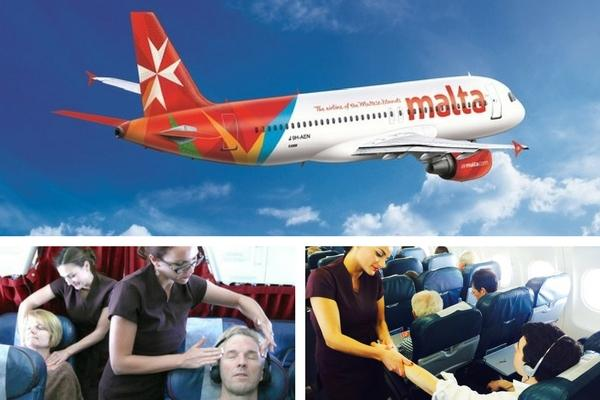 Unusual & Weirdest Airlines Air Malta – Relax while you fly