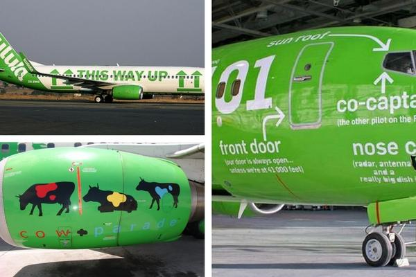 Unusual & Weirdest Airlines Kulula Airlines – The humorous one