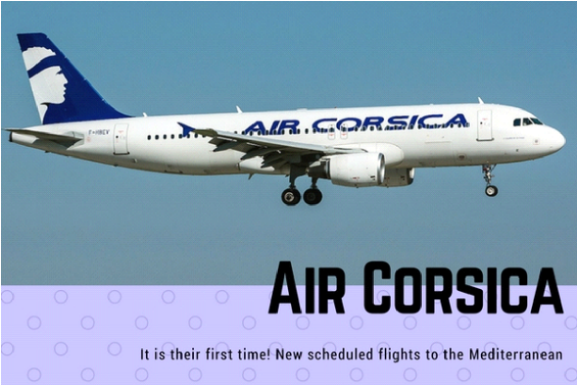 Direct Flights from London Stansted to Corsica
