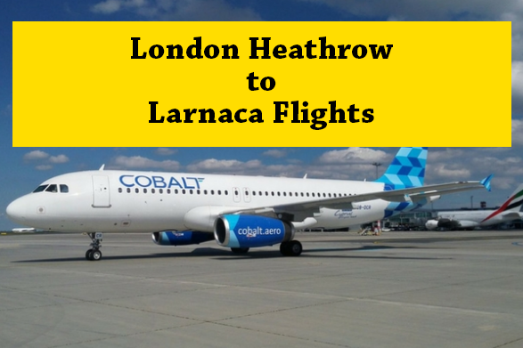 London to Laranaca Flights with air corcisa