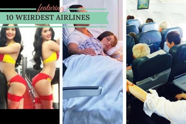 10 Unusual & Weirdest Airlines that really existed