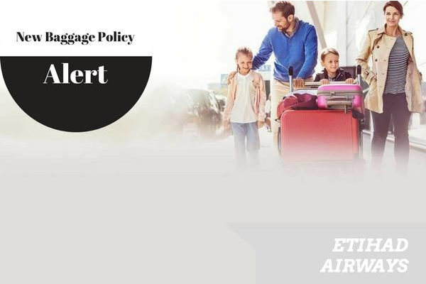 Etihad Airways Baggage Policy