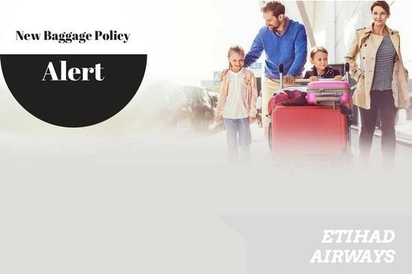 Etihad Airways Baggage Policy