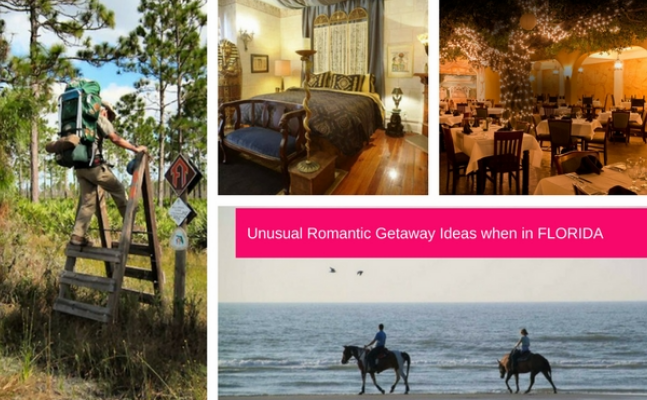 Top romantic getaway ideas when in Florida