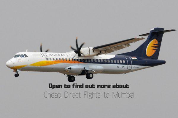 Book cheap direct flights to Mumbai