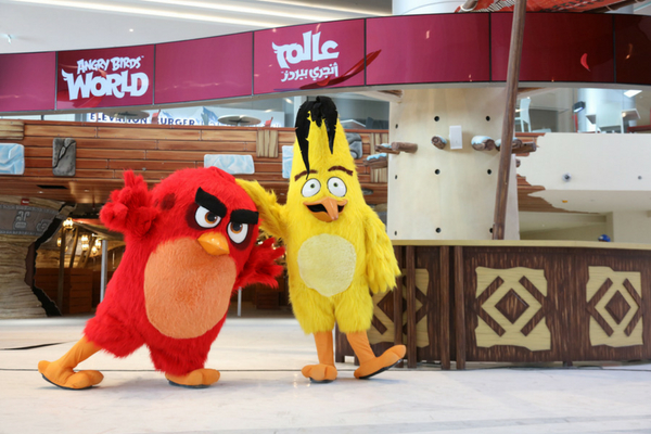 World's First Angry Birds Indoor Theme Park