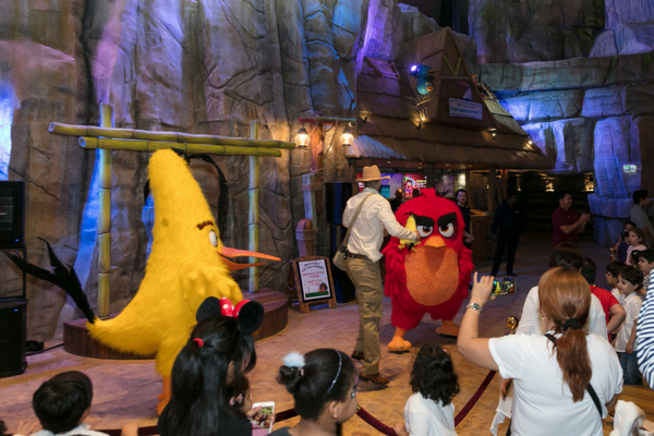 World's First Angry Birds theme park
