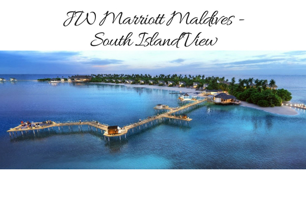 Best hotel to stay in Maldives: JW Mariott Maldives