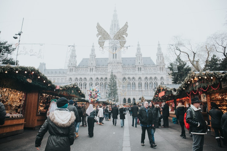 Merry Christmas Salzburg Austria 2018