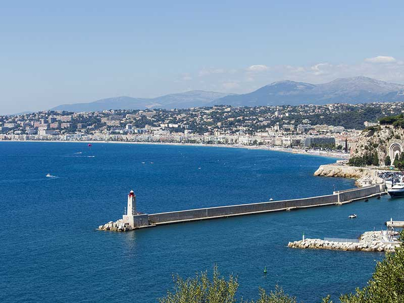 Cheap direct flights to Nice