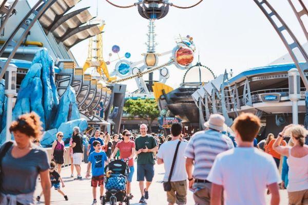 Disney's Magic Kingdom, Orlando, Florida