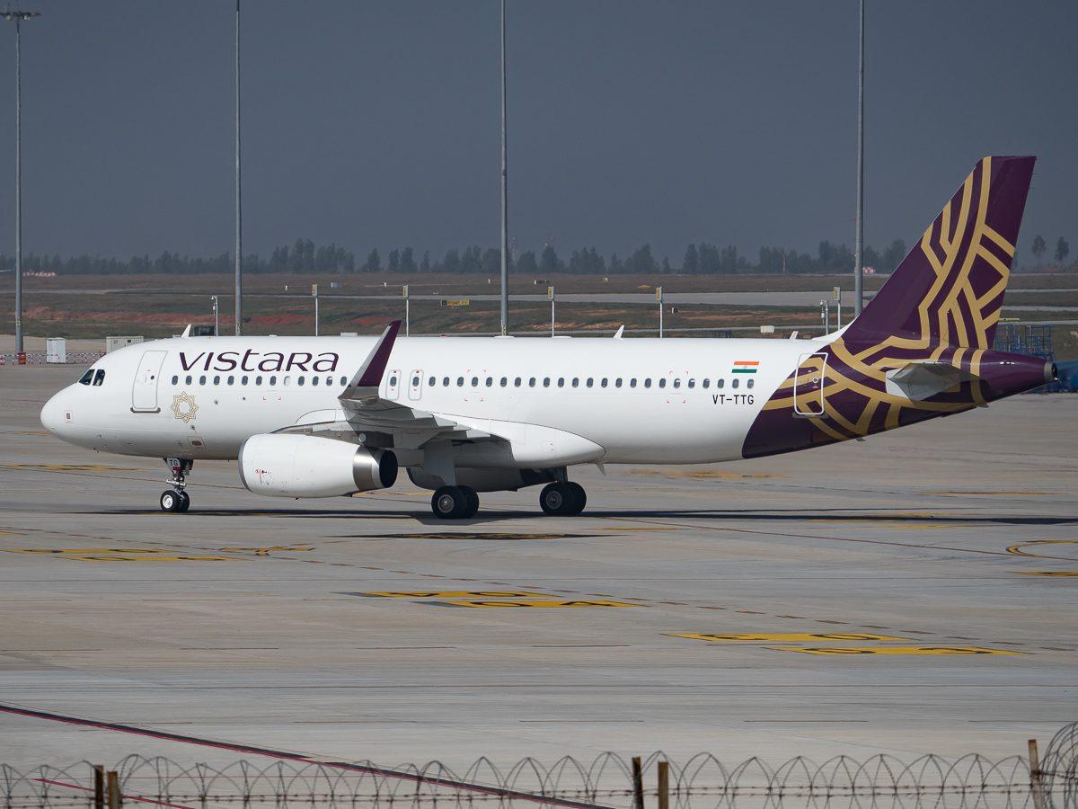 Book Air Vistara Business Class Flights from london uk