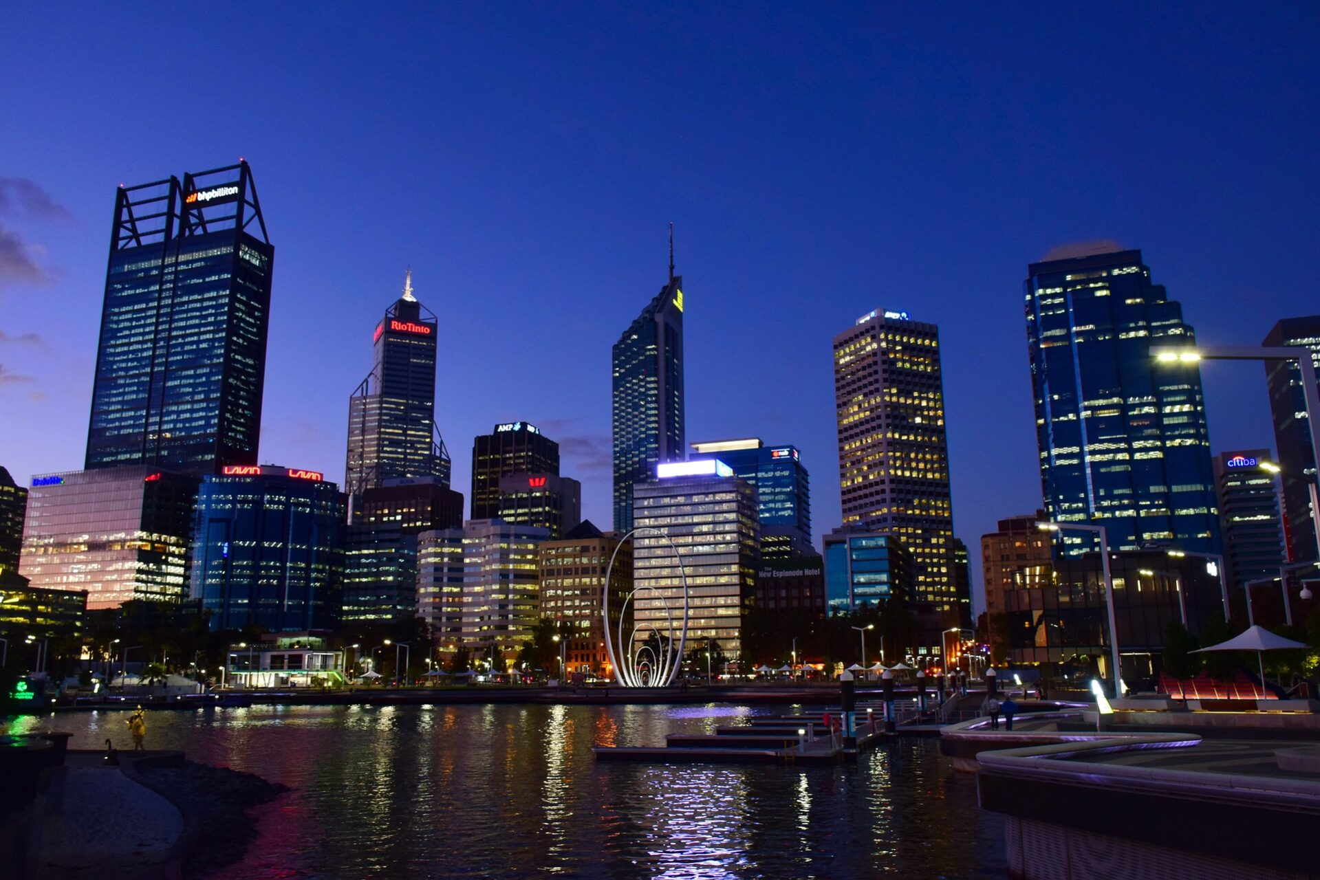Business Class flights deals to Perth from london uk